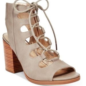 White Mountain Go chic in gladiator style with the